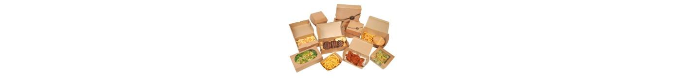 Κουτιά φαγητού Χάρτινα & Craft
